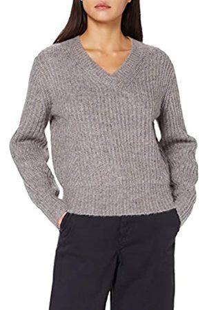 Scotch&Soda Maison Womens Wollmischung mit V-Ausschnitt Pullover Sweater