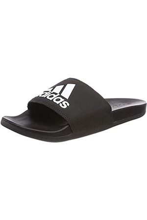 adidas Herren Adilette Cf+ Logo Dusch-& Badeschuhe, (Cblack/cblack/ftwwht Cg3425)