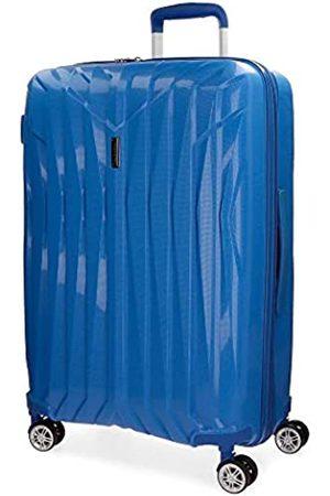 MOVOM Movom Fuji Großer Koffer Blau 52x78x31 cms Hartschalen Polypropylen TSA-Schloss 98L 4