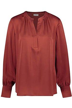 Gerry Weber Damen Shirts - Damen Bluse aus Reiner Seide figurumspielend 40