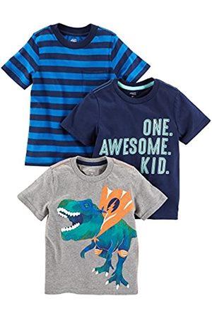 Simple Joys by Carter's Simple Joys by Carter's 3er-Pack kurzärmelige Grafik Infant-and-Toddler-t-Shirts