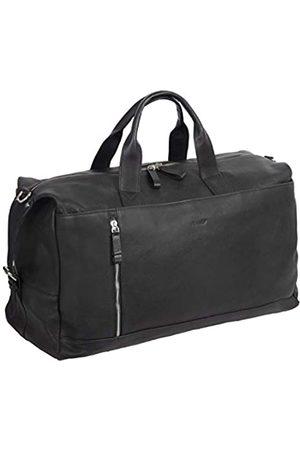 Alassio Alassio 47033 - Weekender Toro, Reisetasche für Damen und Herren aus Echtleder, Multifunktion Umhängetasche mit Schultertragegurt, Schultertasche in