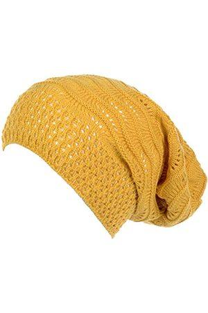 Accessory Necessary Herren Hüte - Slouchy Beanie-Mütze für Erwachsene, offenes Gewebe, gehäkelt, leicht, modisch