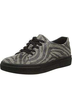 Berkemann Damen Destina Sneaker, grauanthrazit/Zebra