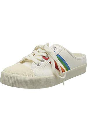 Gola Damen Coaster Rainbow Mule Sneaker, Off White/Multi