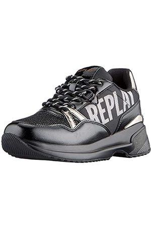Replay Damen Ingles Sneaker, (003 Black)