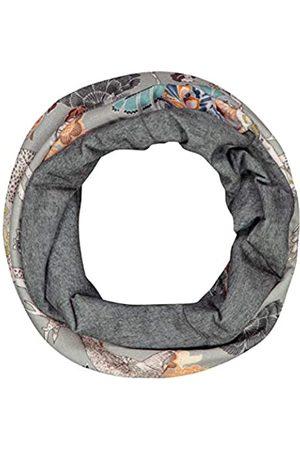 Codello Damen Loop Schal | Paisleyprint | Ultrasofter Loop Schlauchschal | aus 100% recyceltem Polyester |