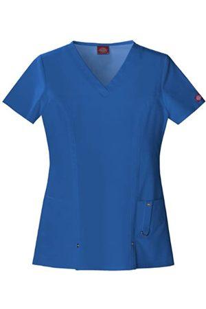 Dickies Damen V-Neck Scrubs Top Krankenhauskleidung, Oberteil