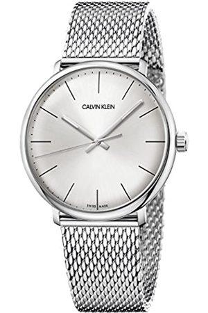 Calvin Klein Calvin Klein Unisex Erwachsene Analog Quarz Uhr mit Edelstahl Armband K8M21126
