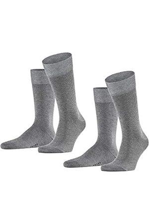 Falke Herren Happy 2-Pack M SO Socken, Blickdicht