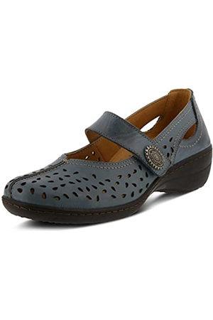 Spring Step Women's LORONA Shoe, Denim Blue