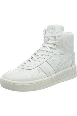 Gola Damen Slam High Sneaker, White/White/White
