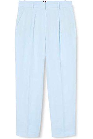 Tommy Hilfiger Tommy Hilfiger Damen Linen Tencel Tapered Pant Straight Jeans