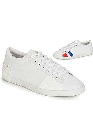 Le Coq Sportif Damen Flag Sneaker, (Optical White Optical White)