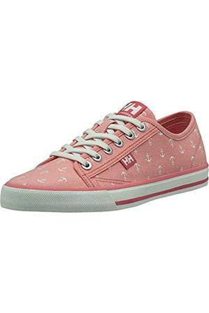 Helly Hansen Damen W Fjord Canvas Shoe V2 11466_185 Sneaker, Pink (Pink 11466-185)