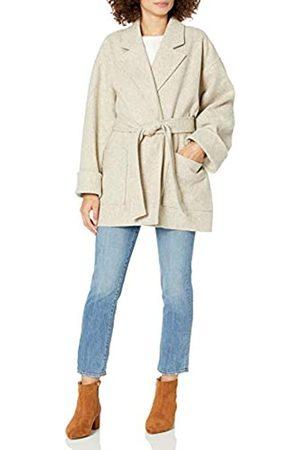 THE DROP Damen-Jacke mit klassischer Passform und Gürtel, von @spreadfashion