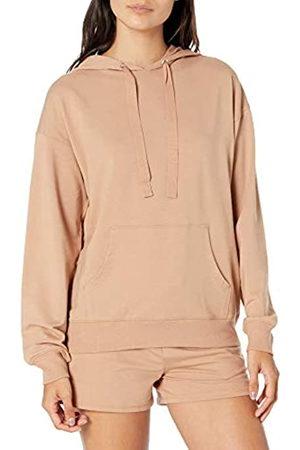 THE DROP Damen Sweatshirts - Damen Remi Kapuzen-Sweatshirt, lockerer Schnitt, lange Ärmel, French Terry