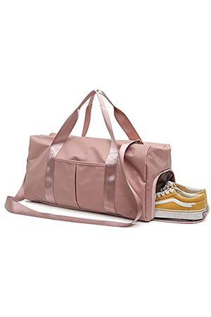Yugefom Yugefom Geteilte Sporttasche, Reisetasche, Reisetasche, Reisetasche, Reisetasche, Yoga-Tasche, Reisen, Wochenende, Schultertasche mit Schuhfach