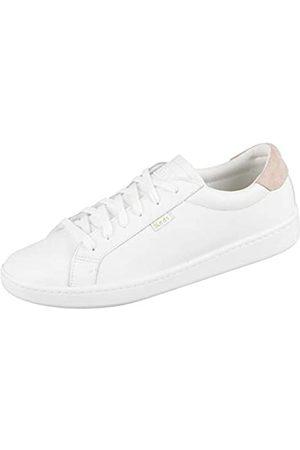 Keds Damen Ace Core Leather Oxfords, (White/Blush)