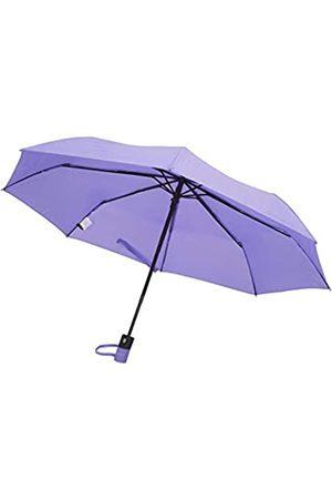 ELIE TAHARI TAHARI Automatisches Öffnen und Schließen Kompakter Reise-Regenschirm mit Konturgriff für Damen und Herren
