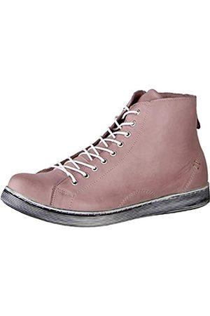 Andrea Conti Damen 0341500 Hohe Sneaker, (Mauve 175)