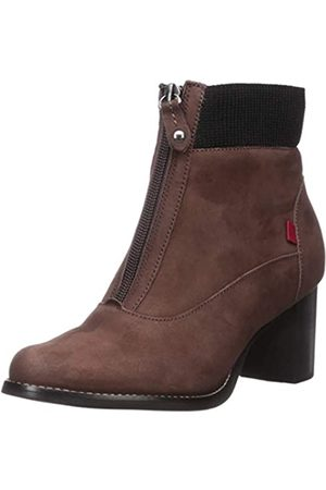 Marc Joseph New York Damen Leather Luxury Ankle Boot with Elastic Detail Stiefelette, /Nubukleder