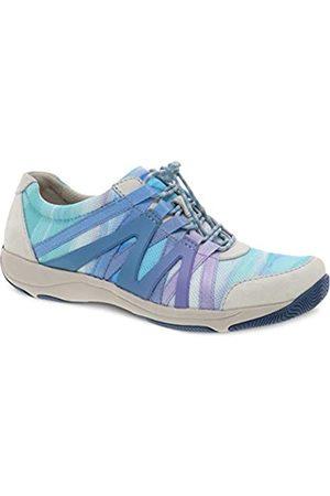 Dansko Women's Henriette Blue Multi Comfort Sneaker 6.5-7 M US