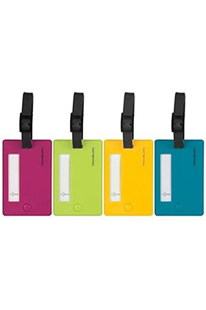 Travelon Travelon Set of 4 Assorted Color Luggage Tags