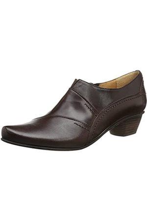 Fidji Damen L695 Slip-On Loafer, (Cal Chocolate)