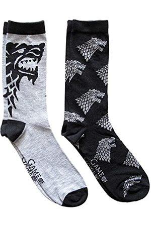HYP Herren Socken & Strümpfe - Game of Thrones Herren Crew-Socken, 2 Paar