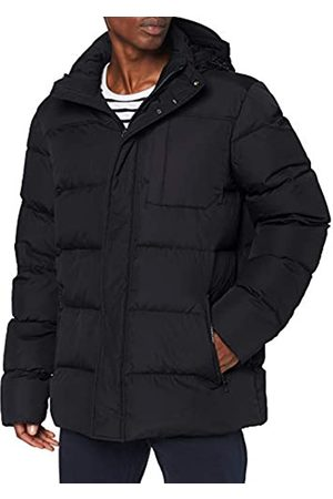 Geox Mens M NETTUNO Quilted Jacket, BLACK