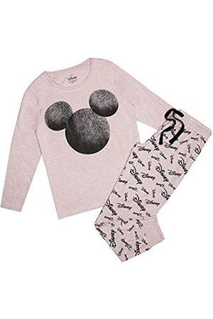 Disney Disney Damen Mickey Silhouette Faded Pyjama Set Pyjamaset