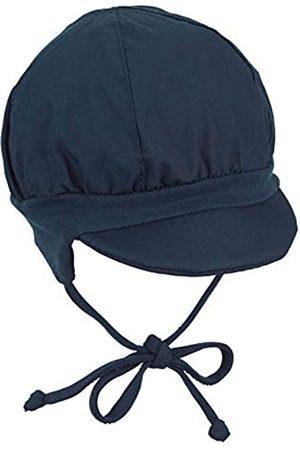 Sterntaler Jungen Hüte - Ballonmütze für Jungen mit Bindebändern und Ohrenklappen, Alter: 5-6 Monate