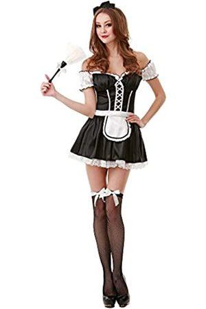 Unbekannt French Maid Damen Halloween Kostüm Sexy Reinigungsservice Maiden Schürze & Rock - - Medium