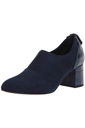 Bella Vita Damen Caraway modischer Stiefel, Marineblau (Veloursleder)