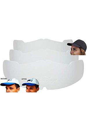 Shapers Image Herren Caps - Manta Ray Baseballkappen, 3 Stück, weiß, Kroneneinsätze für flache Kappen, Hutformer, Hutstrecker, Hutstäbchen, für Flex-Fit-Hüte, Hutstütze, Hutpolsterung, Hutreinigungshilfe, Kappenaufbewahrung