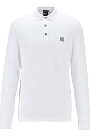 HUGO BOSS BOSS Herren Passerby Longsleeve-Poloshirt aus elastischem Baumwoll-Piqué