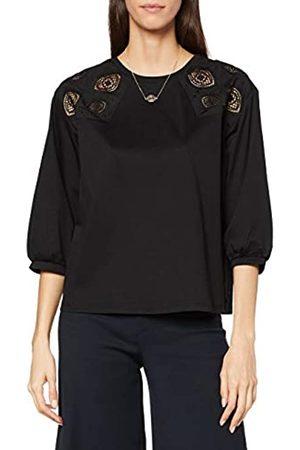 Scotch&Soda Maison Womens Baumwoll-T-Shirt mit Spitze Blouse