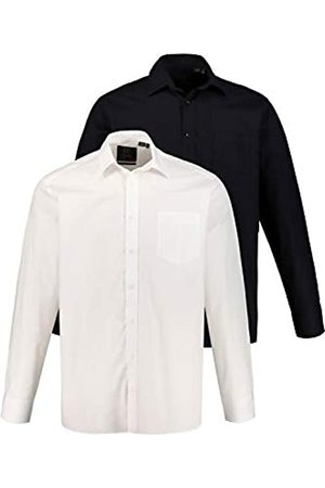 JP 1880 Herren große Größen bis 7XL, Businesshemden, Shirts, 2er-Pack, Comfort Fit