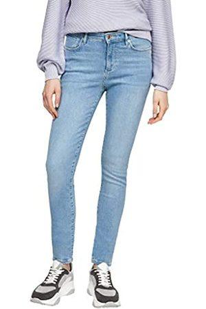 s.Oliver Damen Cropped - Damen Hose light blue 46.32