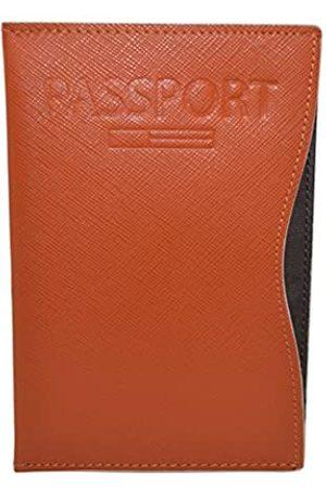 Pacer Go Pacer Go Slim minimalistisch Passport RFID-Blocker echtes Leder
