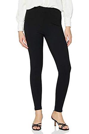 VILA Damen Leggings & Treggings - Female High Waist-Leggings Cropped LBlack