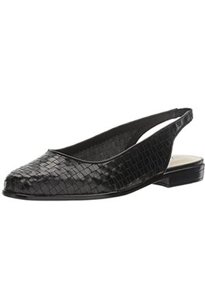 FrenchTrotters Women's Lucy Flat, Black