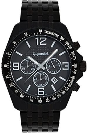 Gigandet Herrenuhr Chronograph Quarz Analog mit Edelstahlarmband Fast Track G12-005