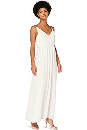 TRUTH & FABLE Damen Lange Kleider - Amazon-Marke: Damen Maxi-Boho-Kleid aus Chiffon, 46