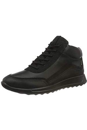 Ecco Damen Flexure Runner W BlackBlack Dritton/Yabu Sneaker, (BLACK/BLACK)