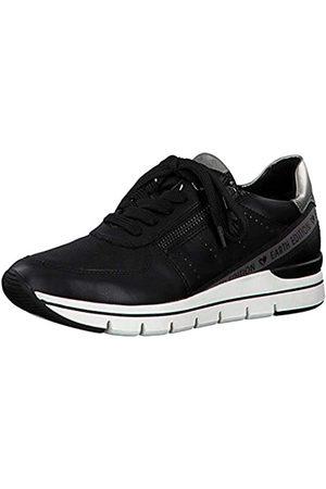 Marco Tozzi Damen Earth Edition 2-2-23773-25 Sneaker, BLACK ANT.COMB