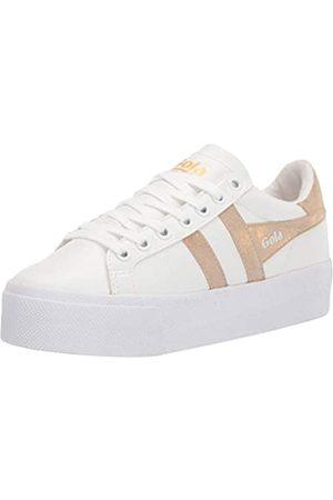 Gola Damen Orchid Platform Sneaker, White/
