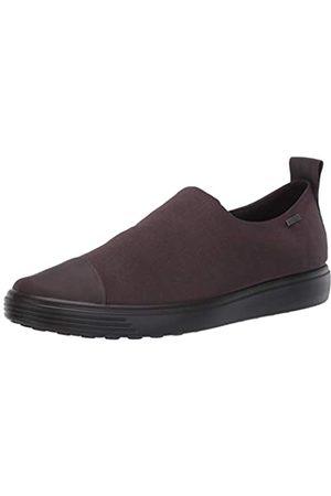 Ecco Damen Soft 7 W ShaleShale DrittonTextile Sneaker, (Shale/Shale)
