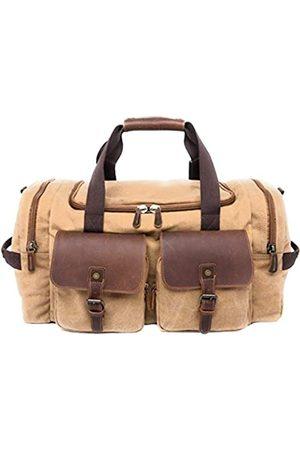 The Dapper Beardsman Duffel Bag | Canvas & Leather Collection von